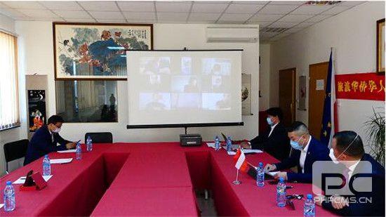 波兰中国和平统一促进会举行《反分裂国家法》实施15周年视频座谈会