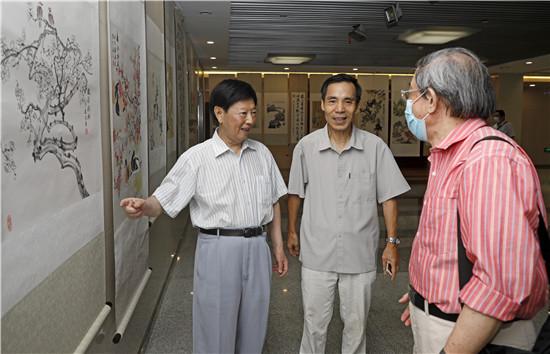 健笔著雄文_妙手绘丹青_傅通先作品研讨会暨书画展在杭州举行