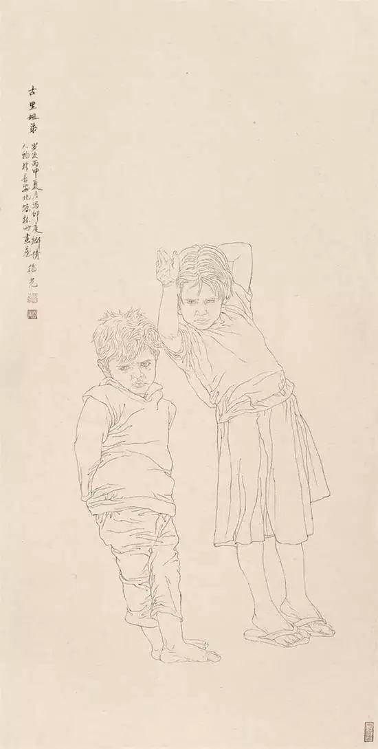 当代最具收藏价值的人物画家――杨光利